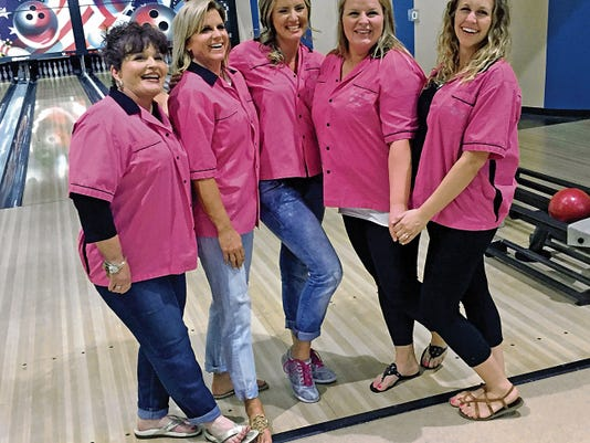 Courtesy Photo   The Bowlerinas took the Wednesday Night Women's Bowling League Team Championship during a league roll-off held Friday at the Starmax Bowling Center, 333 N. Country Club Road. The champs are, from left, Kathy Penn. Anne Keeler, Jodie Penn, Britney Power and Julianna Keeler.