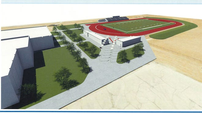 Milwaukee Public Schools will break ground Thursday on a new $5.7 million stadium at Vincent High School on the city's northwest side. The facility will include artificial turf for football and soccer, an eight-lane track, seating for 1,200, restrooms, locker rooms and more.