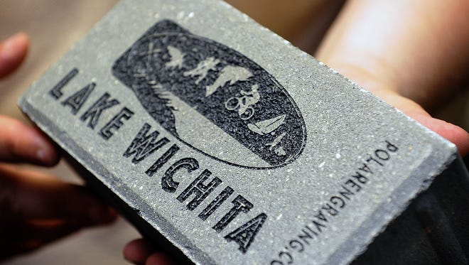 The Lake Wichita Revitalization Committee is winding down their brick sales campaign for the Veterans Memorial Plaza. Bricks come in three sizes - 4x8 with three lines of text, 8x8 with 5 lines of text and 12 with 7 lines of text. The brick sale will end Sept. 30.