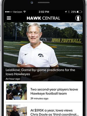 Hawk Central app