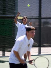 Golden Eagles doubles players Edgar Gomez, and Francisco