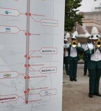 M-1 rail sponsors celebrate streetcar project