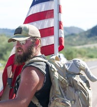 Justin Kuhel March Across America