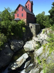 The Old Red Mill in Jericho is home to the Jericho