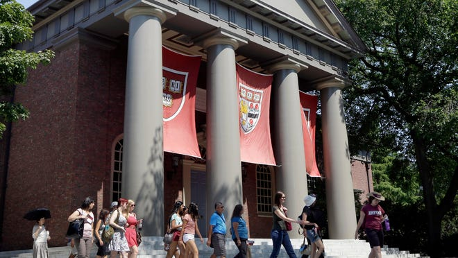 Harvard's men's soccer team won't play in the Ivy League tournament after officials learned they had written 'scouting reports' for incoming members of the women's soccer team.