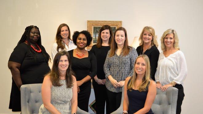 The Junior League of Savannah 2020-2021 Board of Directors.