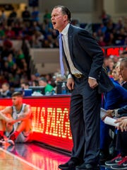 Fifth-season FGCU coach Joe Dooley has led the men's team to both  its ASUN regular-season titles. He also is quick to help FGCU women's coach Karl Smesko.