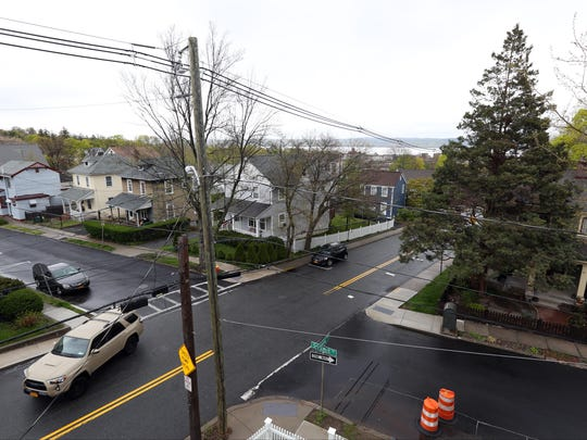 View of the neighborhood from a house for sale in Nyack