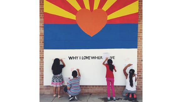 For Arizona's birthday, Kristin Tovar of Tucson designed