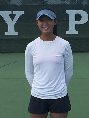 Bay Port freshman Isabelle Lee was the FRCC Player of the Year for girls tennis.
