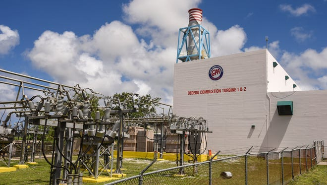The Guam Power Authority's Dededo Combustion Turbine power plant on April 5, 2017. The plant's turbine unit 1 which has been offline since December 2010 and unit 2, since May 2004, said Jeam Diaz, GPA combustion turbine plant manager. Both turbine units were rehabilitated last month, added Diaz.