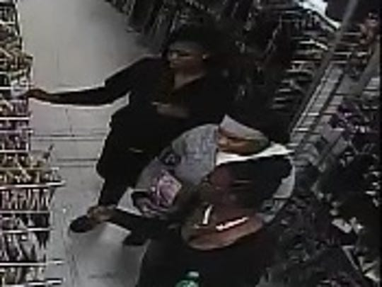 Jackson police are looking for three women who are suspected in two October 19 thefts.