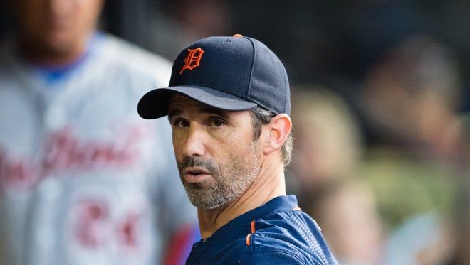 Tigers manager Brad Ausmus.