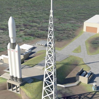 Artist concept of Space Florida's Shiloh commercial