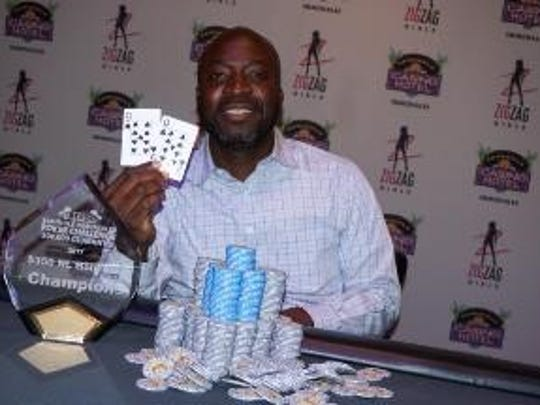 Yves Petithomme, 42, of Fort Myers, won the opening event of the  Seminole Immokalee Poker Challenge Main Event on Thursday.