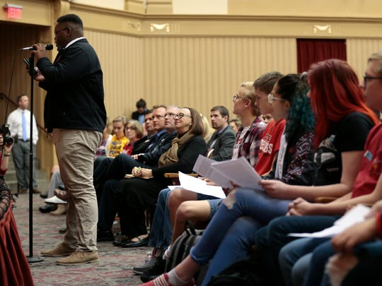 At forum, Central students tell officials: 'School safety