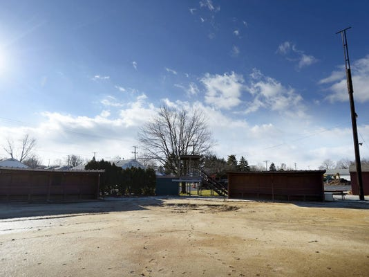 The fences and a press box at Seltzer's Field on East Broad Street in Palmyra have been torn down. The 5 acre property is up for sale.
