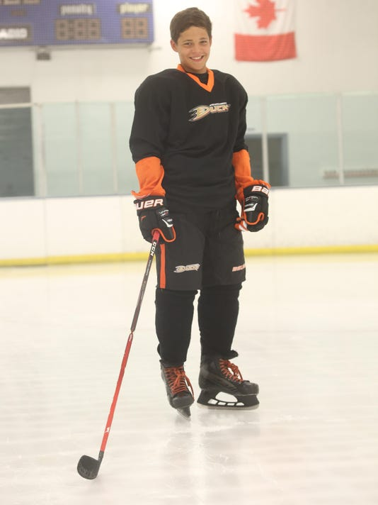 SECONDARY Hockey Player