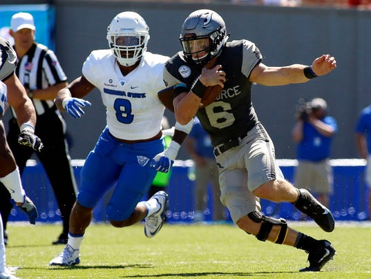 NCAA Football: Georgia State at Air Force