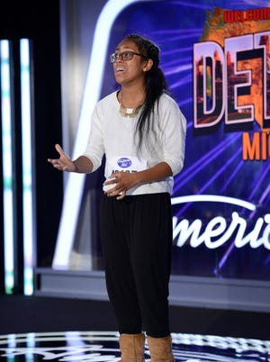 """American Idol XIII: Detroit Auditions Contestant Malaya Watson auditions in front of the judges on ""American Idol XIII,"" airing Wednesday, Jan. 22 on FOX."