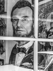 Reflections of Abe Lincoln by Rich Brainerd, showcased at RoCo's On The Side pop-up event.