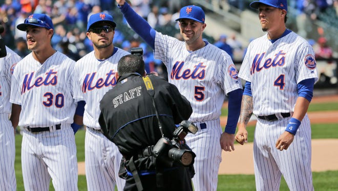 David Wright is with the Mets in New York.