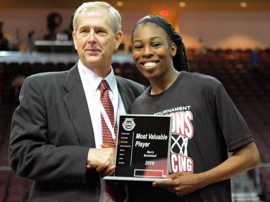 Former New Mexico State women's basketball standout Sasha Weber is on the Golden State Warriors operations staff.