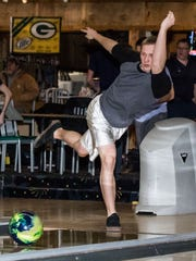 Alex Fischer practices at Sussex Bowl in March of 2015.
