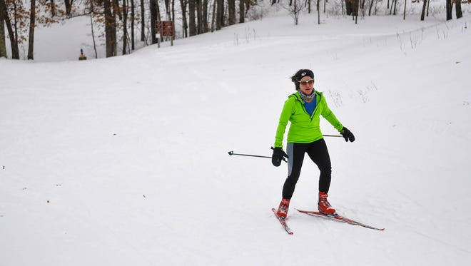Active Portage County and the Portage County Parks Department are hosting a downhill ski event this weekend at Standing Rocks County Park.