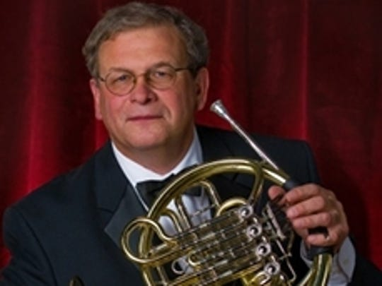 William Scharnberg will perform a recital with tubist Patrick Sheridan at 7:30 p.m. Saturday in Wolfe Recital Hall.