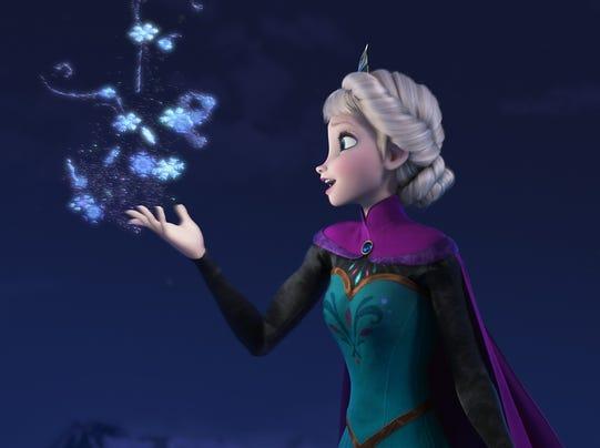Elsa in Frozen