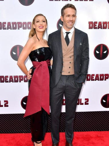 Blake Lively turned out to support husband Ryan Reynolds