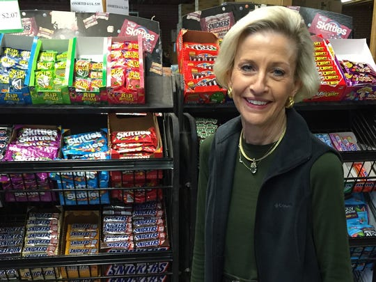 Linda Silmon operates the candy company her late husband
