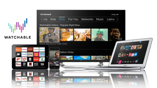 A look at the devices that Comcast's new Watchable app is available on, including TVs via the X1 set-top box.