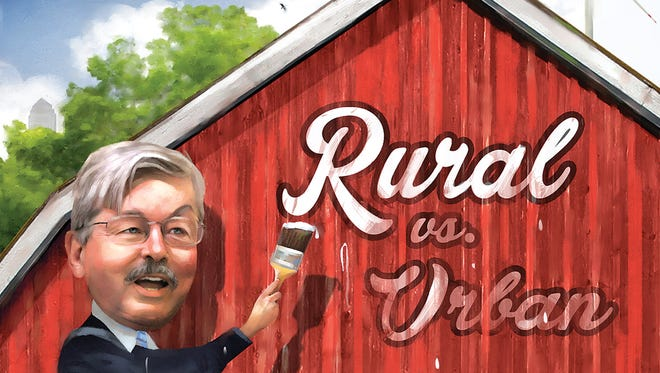 City vs. Country in Iowa -- is it hurting our state?