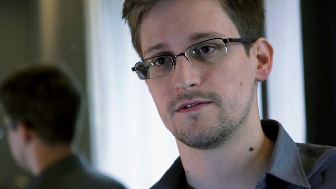 NSA whistle-blower Edward Snowden