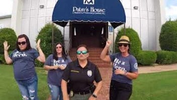 WFPD tossed their hat into the ring July 8 for the law enforcement lip sync challenge.