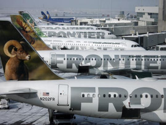 frontier airplanes