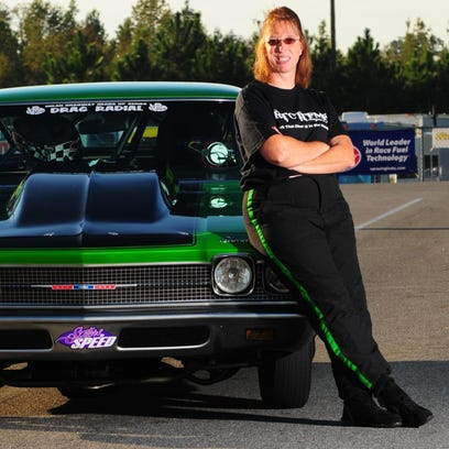 Karri Anne Beebe was the 2013 Nitrous Drag Radial champion and Female Driver of the Year at Milan Dragway.