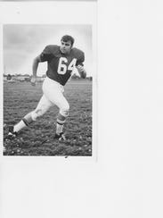 Chick Lauck, of the 1969 Continental Football League