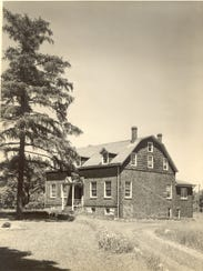 John W. Rea House in undated photo.