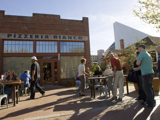 People Hang Out At Pizzeria Bianco In Heritage Square Downtown Phoenix Photo David Wallace Arizona Republic