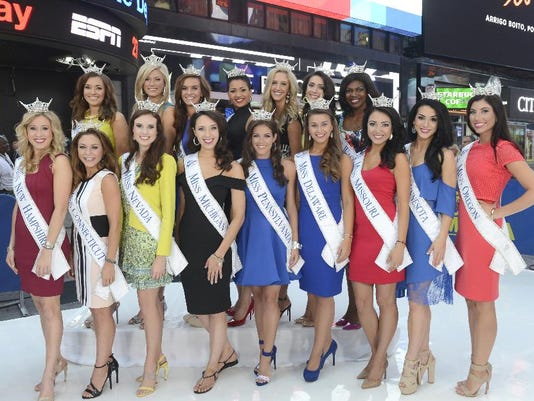 2016 MISS AMERICA CONTESTANTS