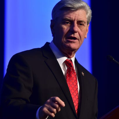 Gov. Phil Bryant has filed notice of appeal of a federal