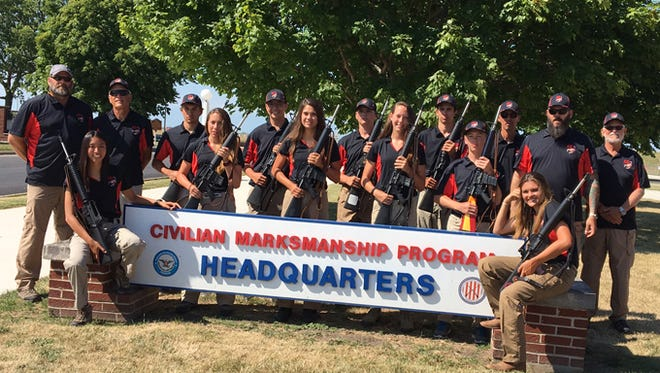 The 2016 Arizona Scorpions team visited Camp Perry in Port Clinton.