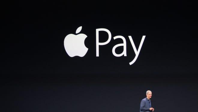 Tim Cook announces Apple Pay