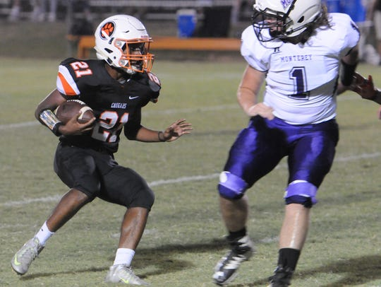 MTCS freshman Kemari McGowan is on pace for more than