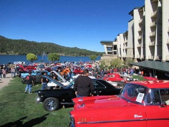 Rod Run and Car Show at the Inn of the Mountain Gods at Mescalero Saturday as part of the AspenFest activities.