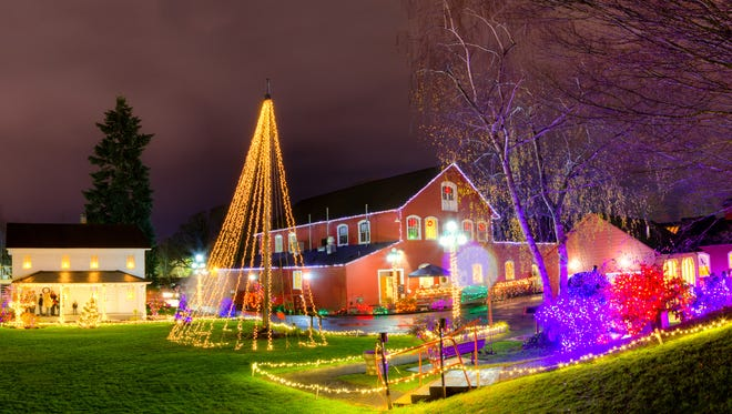 Bask in the beauty of an illuminated holiday at Magic at the Mill Dec. 19-23.