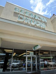 Beemon Drugs on Northside Drive in Jackson.